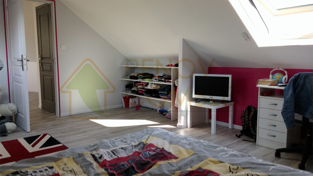 accueil renov combles am nagement des combles perdus. Black Bedroom Furniture Sets. Home Design Ideas